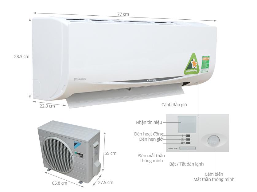 máy lạnh Daikin giá rẻ