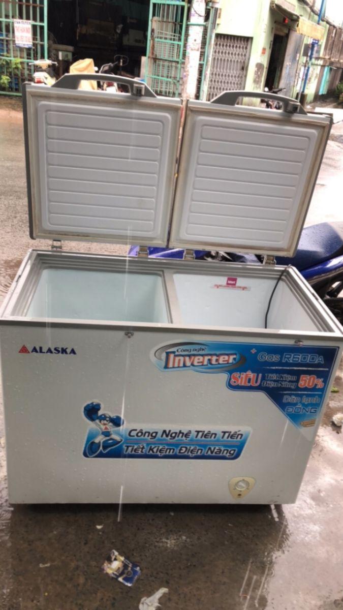 tủ đông mát Alaska