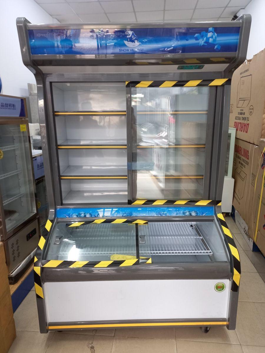 tủ đông - mát siêu thị