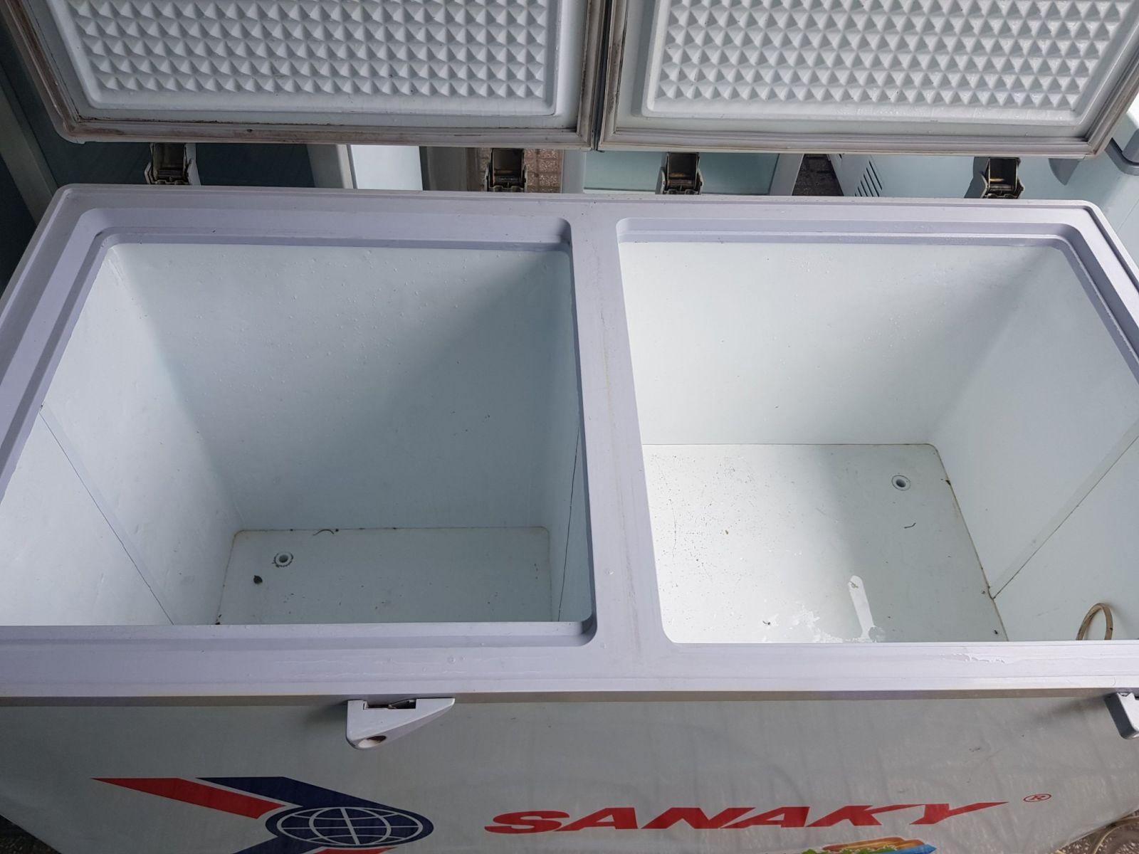 tủ đông mát Sanaky 560l