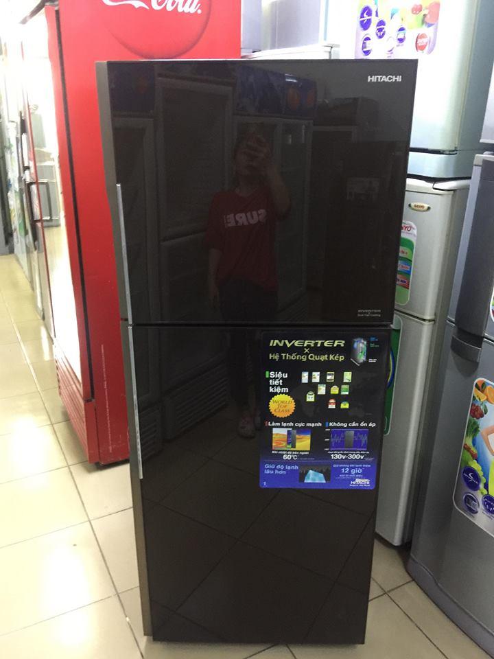 tủ lạnh Hitachi 335L