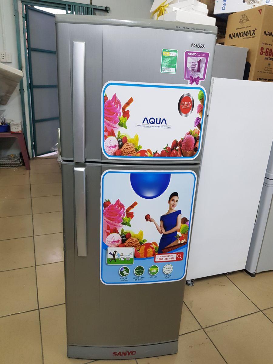 tủ lạnh cũ Sanyo