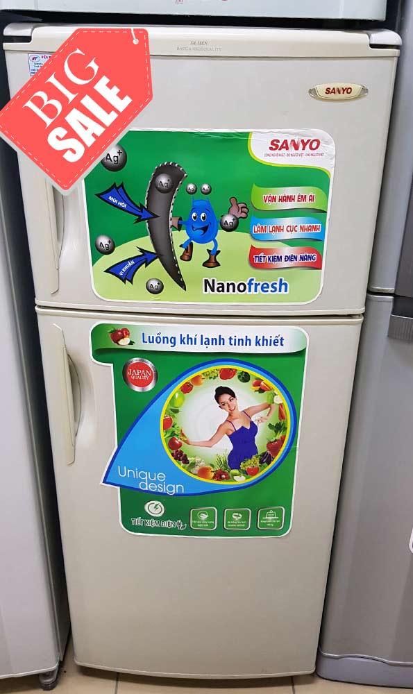 mua tủ lạnh Sanyo giá rẻ